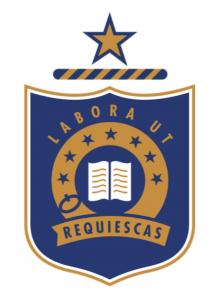 LABORA UT REQUIESCAS logo