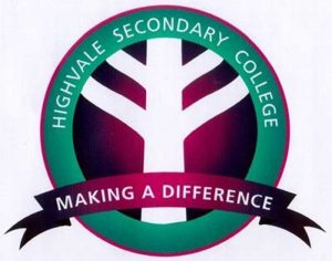 Highvale Secondary College logo