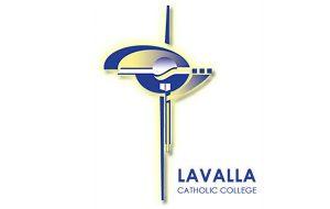 Lavalla Catholic College logo